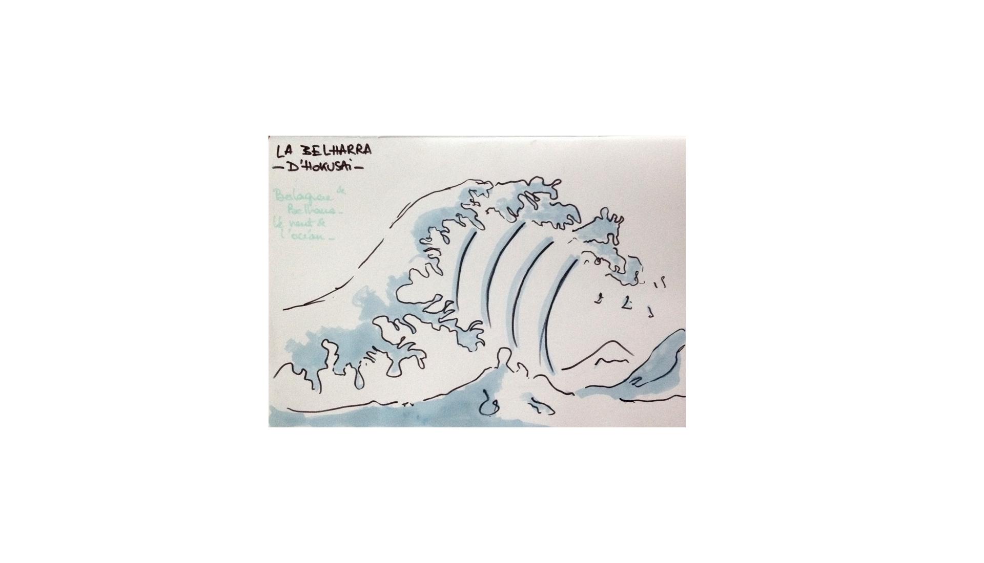 hokusai_sketch